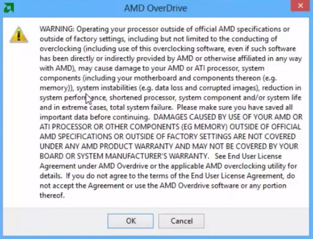 Amd Overdrive Инструкцию