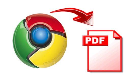 Сохранить Web страницу как PDF в Chrome