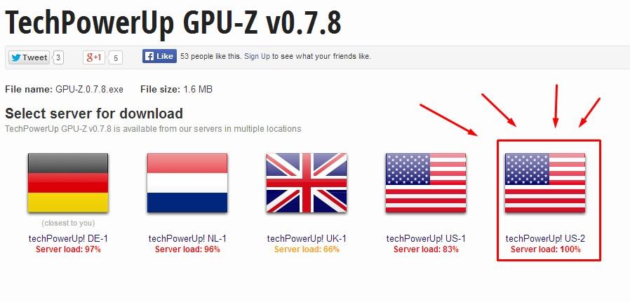 Офсайт GPU-Z