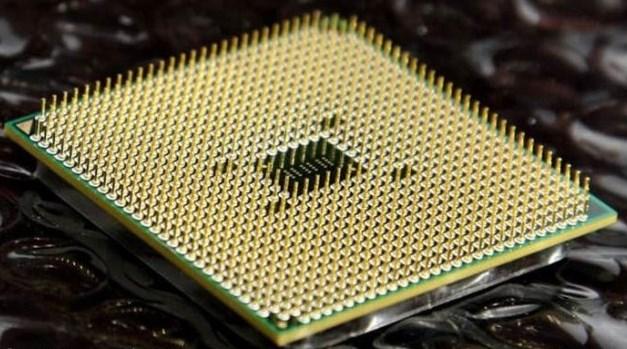 Контакты процессора