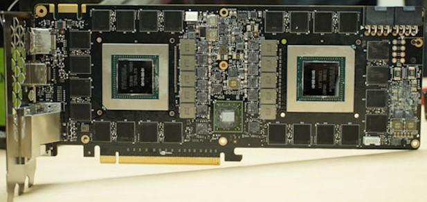 Видеокарта изнутри Nvidia Geforce gtx titan Z