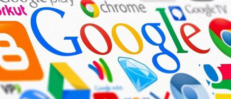 Google. Список сервисов