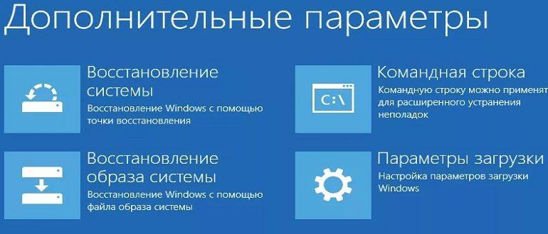 Как запустить восстановление системы Windows8